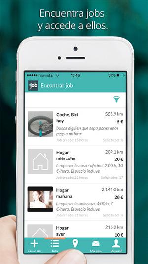 JobMapp encuentra Jobs y accede