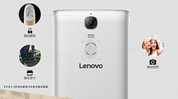 Lenovo K5 Note cámara