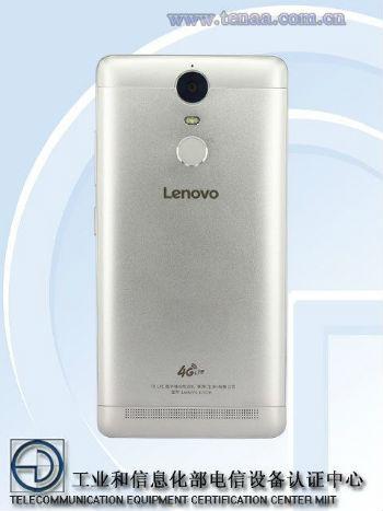 Lenovo K5 Note vista posterior