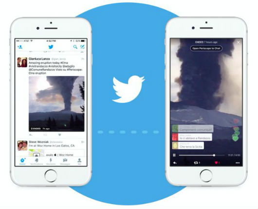 Twitter y Periscope