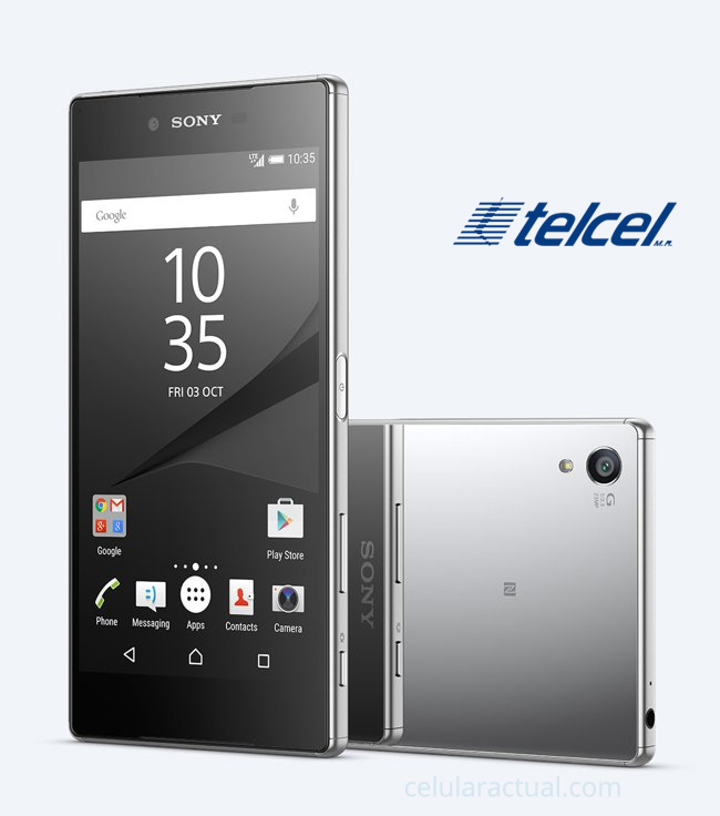 Sony Xperia Z5 Premium en México con Telcel