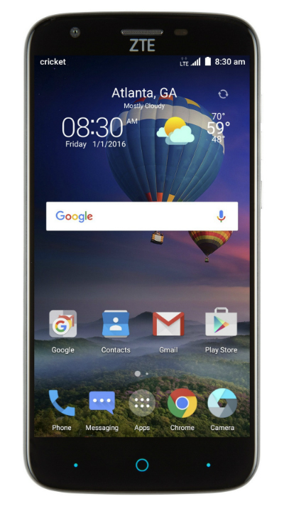 ZTE Grand X3 pantalla