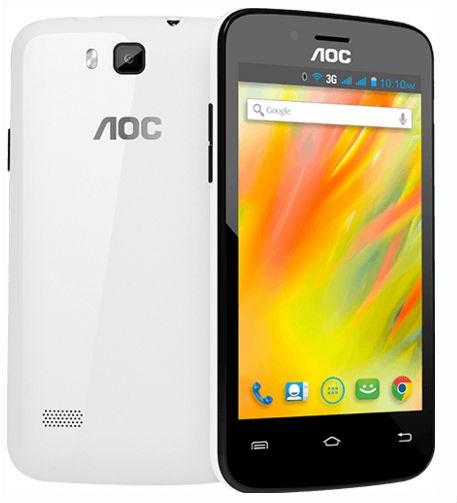 AOC E40 color blanco