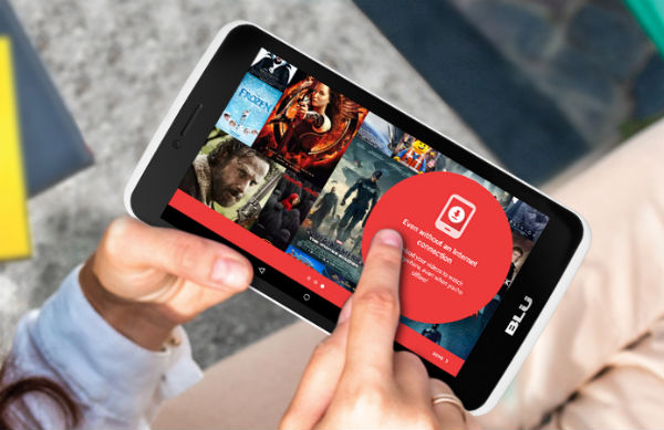 Blu Touchbook G7 pantalla