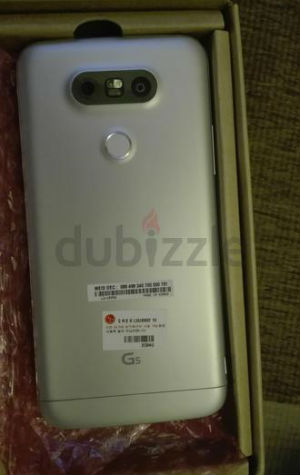 LG G5 vista posterior