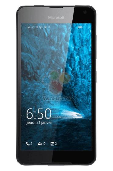 Microsoft Lumia 650 pantalla