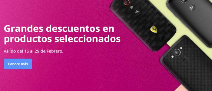 Motorola descuentos febrero 2016