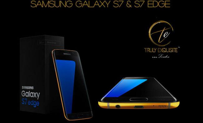 Samsung Galaxy S7 Oro 24K