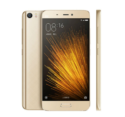 Xiaomi Mi5 diseño