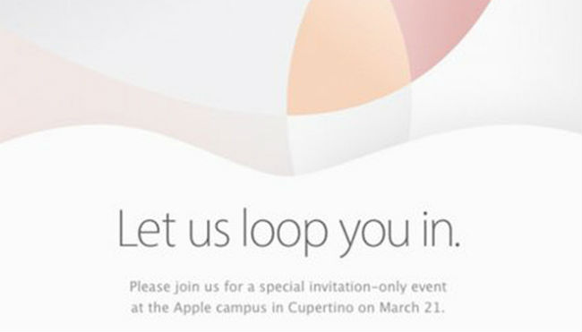 Apple evento 21 de marzo