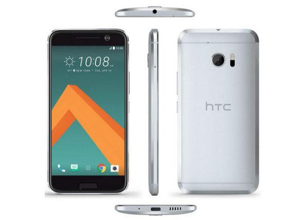 HTC 10 diseño