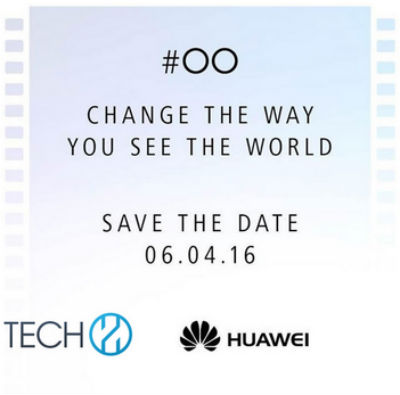 Huawei P9 confirma su presentación el 6 de abril