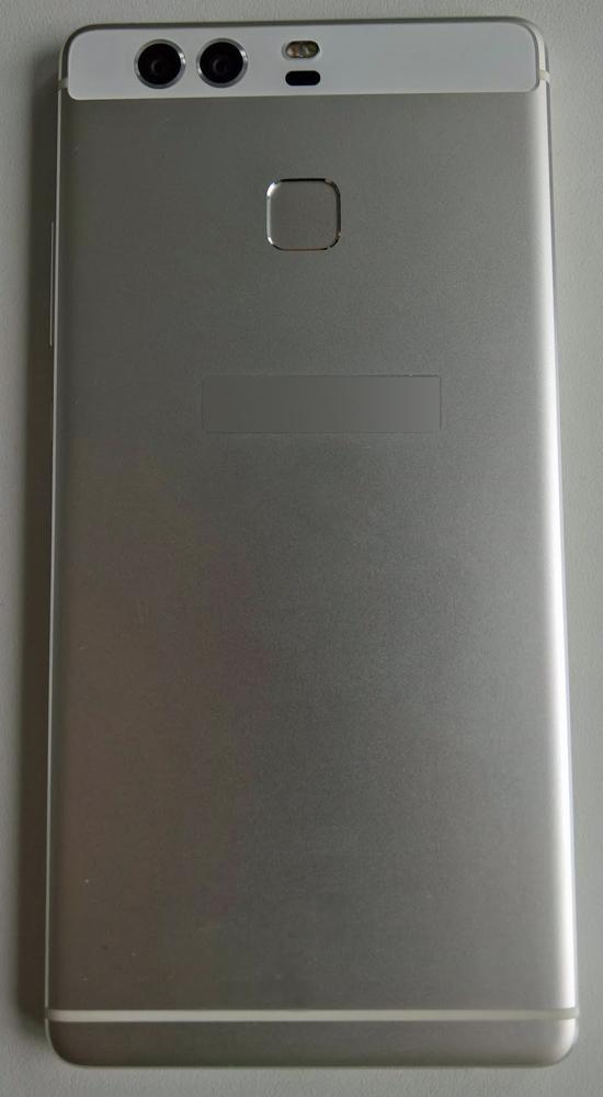 Huawei P9 vista posterior