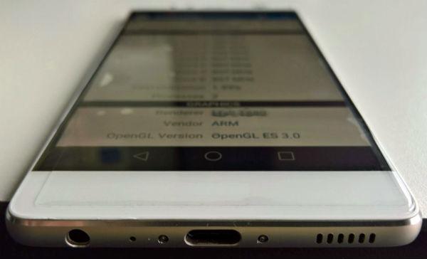 Huawei P9 pantalla