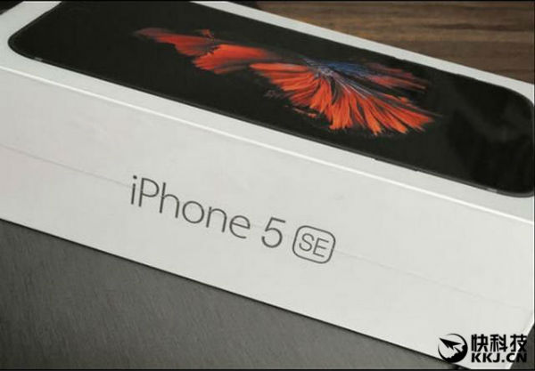 iPhone 5se caja