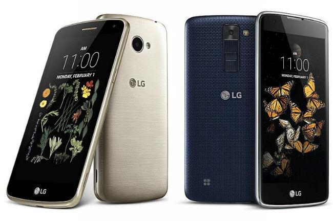 LG K8 y LG K5