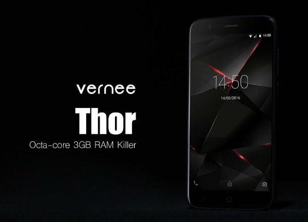 Vernee Thor diseño