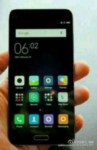 Xiaomi con pantalla de 4.3 pulgadas