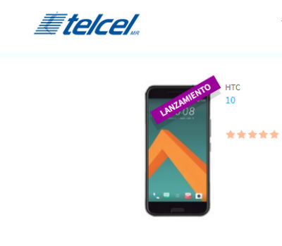 HTC 10 Telcel