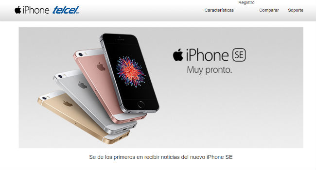 iPhone SE con Telcel