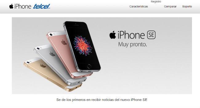 iPhone SE con Telcel