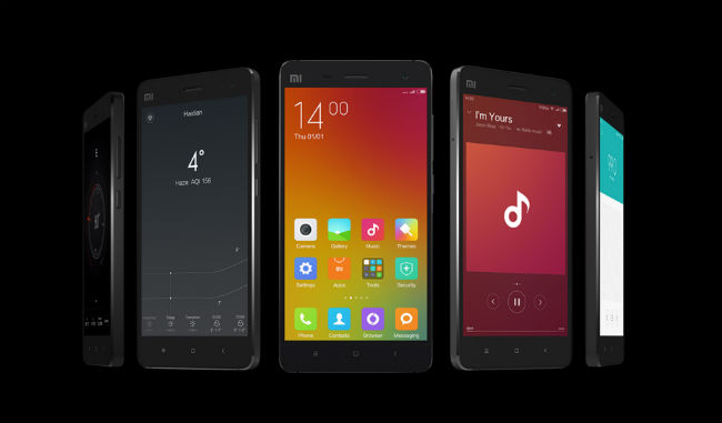 Xiaomi Mi 4 diseño