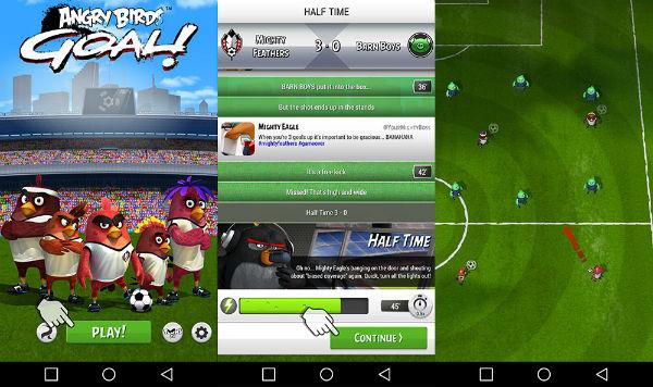Angry Birds Goal