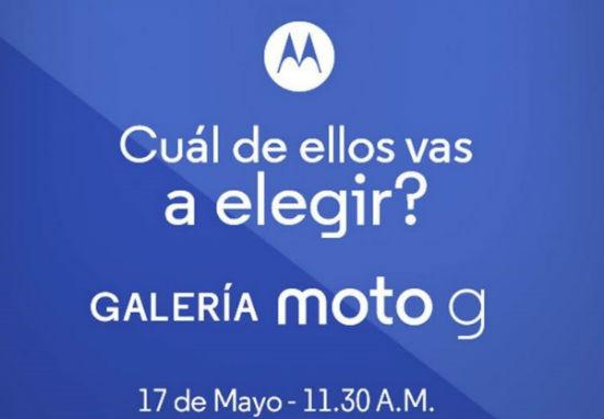 Motorola Moto G 17 mayo