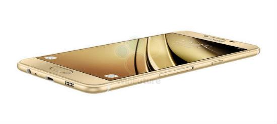 Samsung Galaxy C5 diseño