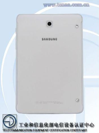 Samsung Galaxy Tab S3 vista posterior