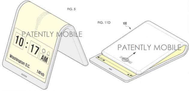 Samsung Galaxy X llegará en 2017 con pantalla plegable