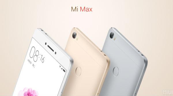 Xiaomi Mi Max colores