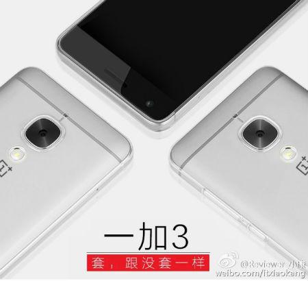 OnePlus 3 diseño