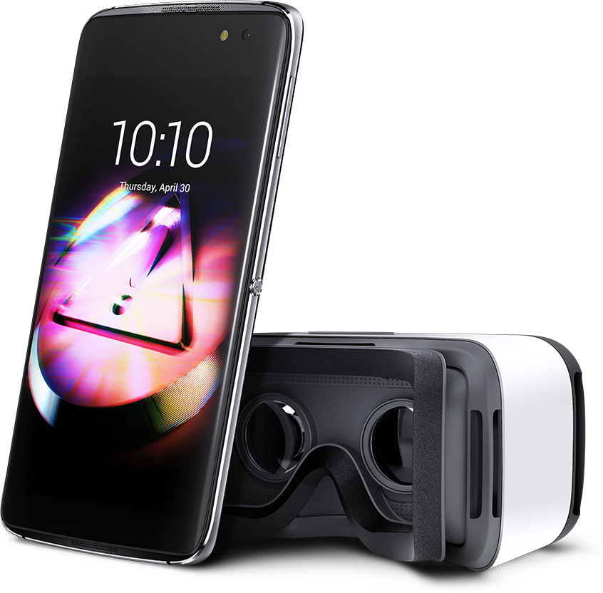 Alcatel Idol 4 con visor de realidad virtual en México