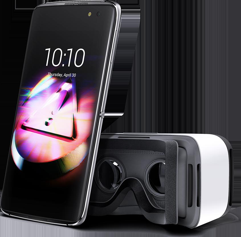 Alcatel Idol 4 con visor de realidad virtual en México