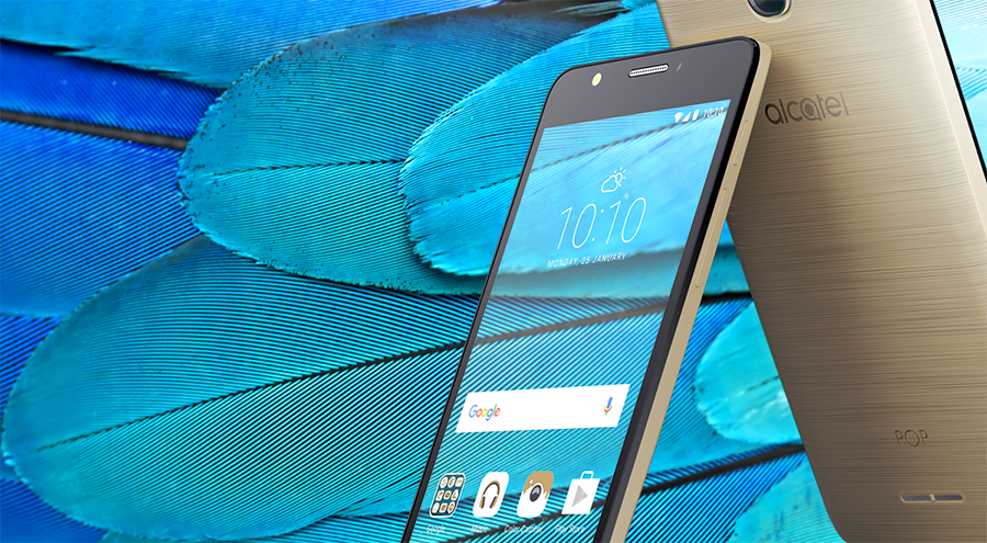 Alcatel Pop 4S en México pantalla HD