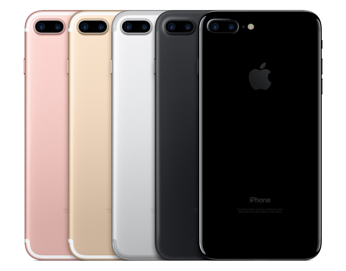 iPhone 7 colores disponibles