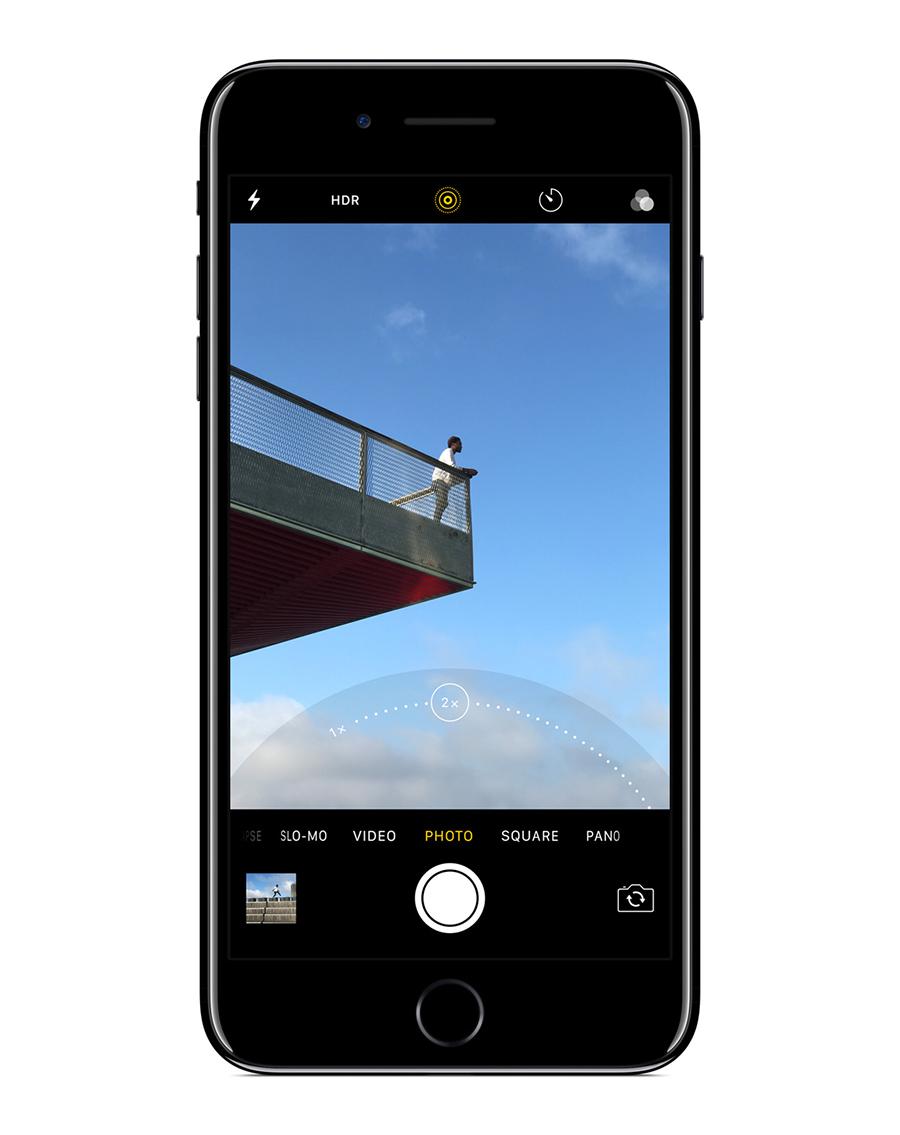 iPhone 7 video 4K con estabilizador óptico