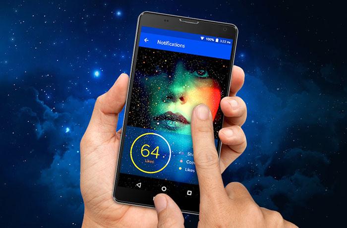 Blu Neo XL pantalla