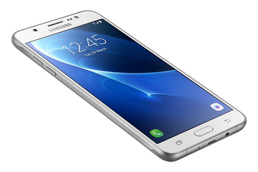 Samsung Galaxy J7 2016 en México con Telcel  J710MN frontal pantalla