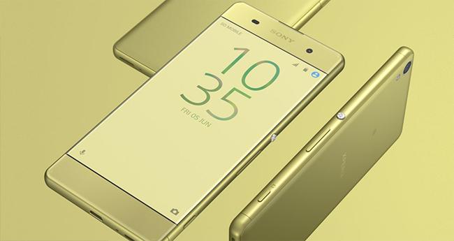 Sony Xperia XA pantalla