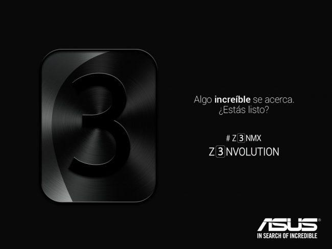 Asus ZenFone 3 teaser México
