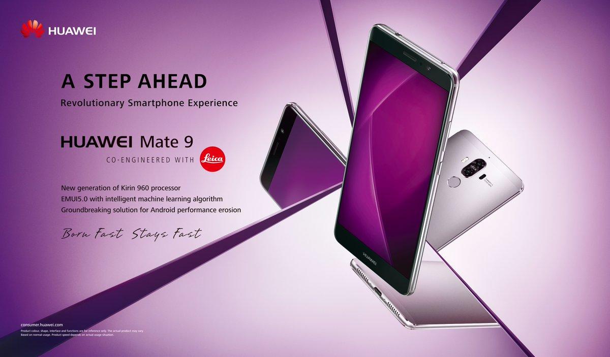 Huawei Mate 9 y Mate 9 Porsche Design se presentan oficialmente