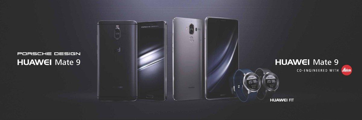 Huawei Mate 9 y Porsche Design