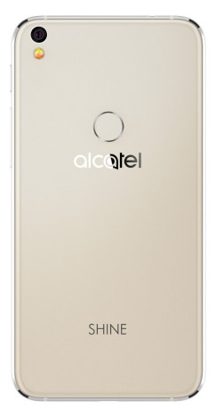 Alcatel Shine Lite cubierta