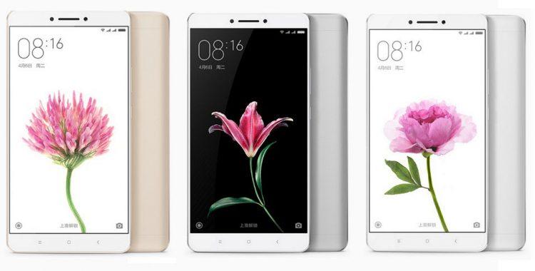 Xiaomi MI Max modelos