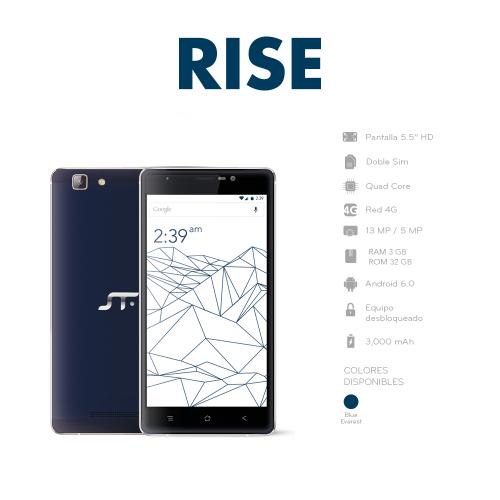 STF Rise especificaciones