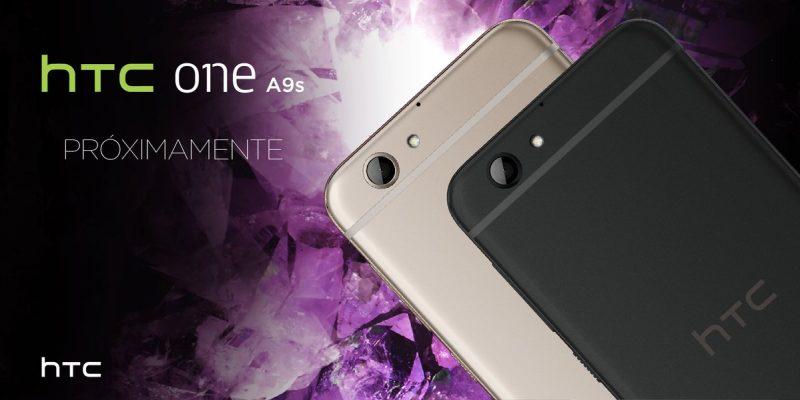 HTC One A9s en México
