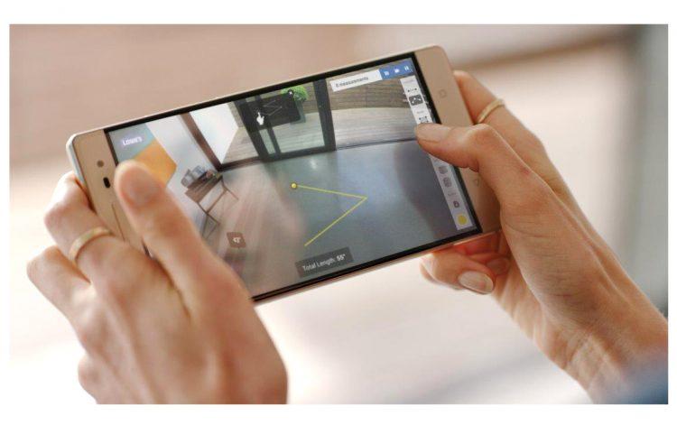 Lenovo Phab 2 Pro pantalla