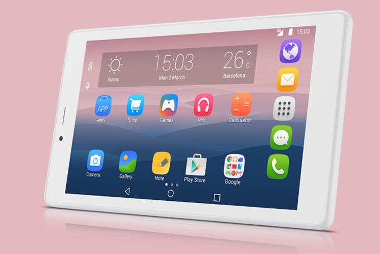 Alcatel Pixi 4 7 pantalla